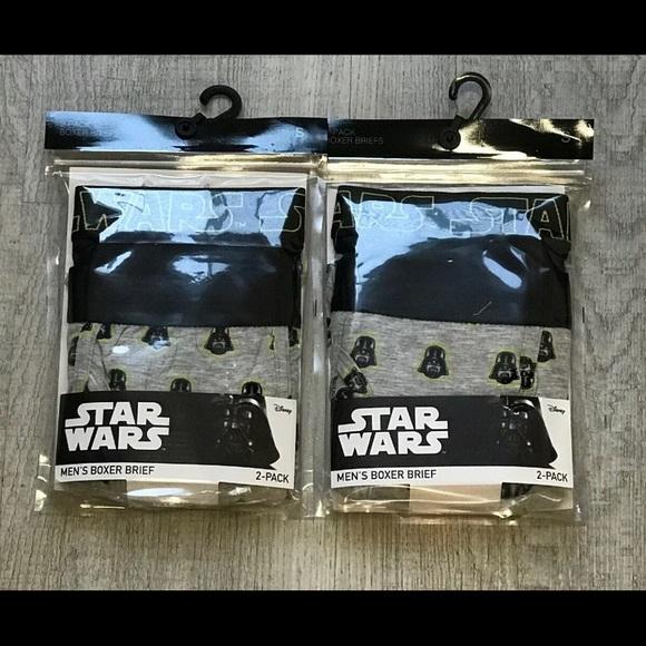 Disney Other - Star Wars Men's Boxer Briefs Small 28-30 Disney